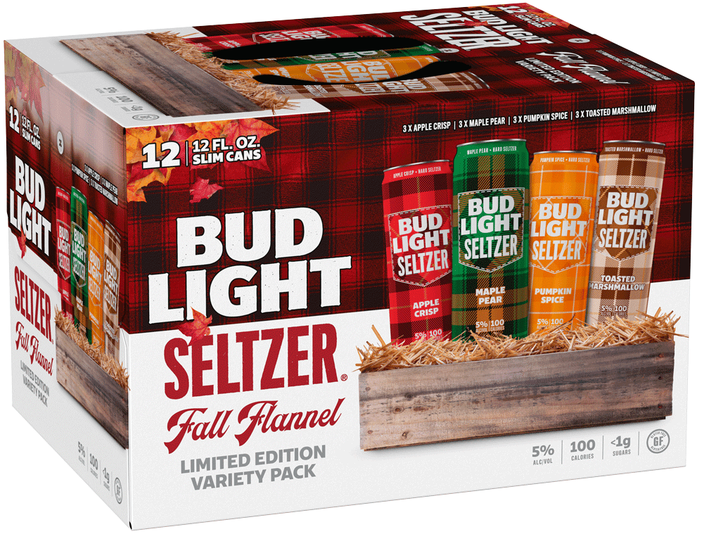 Bud Light Fall Flannel Limited Edition Variety Pack