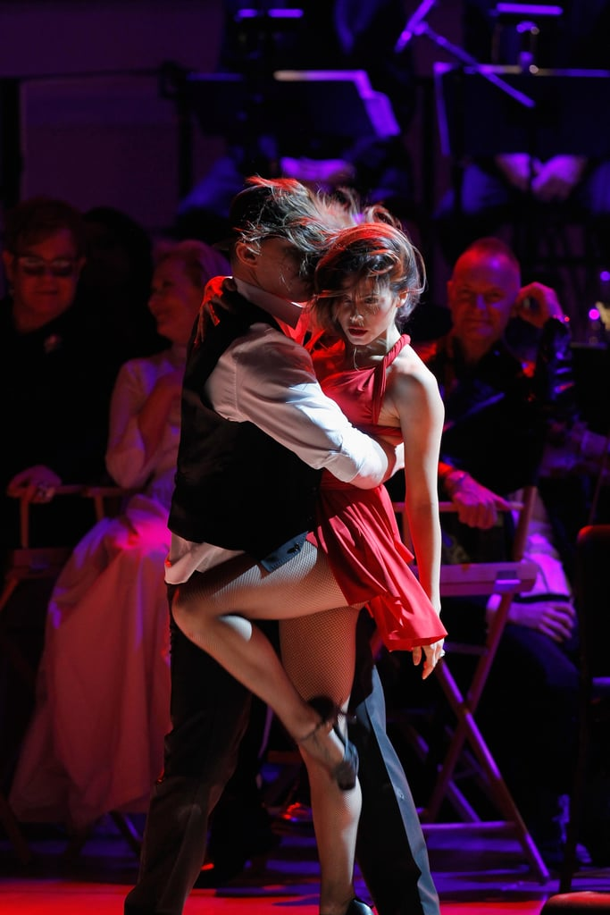 Channing Tatum and Jenna Dewan Put on a Steamy Show For the Rainforest Fund