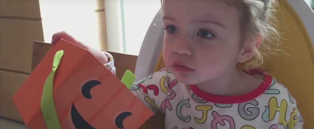 Jimmy Kimmel Tells His 2-Year-Old Daughter He Ate All of Her Halloween Candy