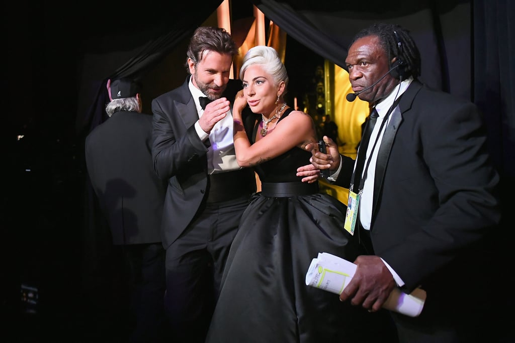 "Knowing what Bradley Cooper said to Lady Gaga before their now-viral Oscars performance of ""Shallow"" makes it that much better. On Sunday, Lady Gaga headed to the press room after her momentous night, and she shared the sweet piece of advice Bradley gave her before their last rehearsal.  She tied it into her response when someone asked if she had any advice for Australian members of the LBGTQ+ community during Sydney's Gay and Lesbian Mardi Gras, which continues through the beginning of March. ""What I would like to say is one of the hardest things in life is to be brave enough to be yourself,"" Gaga said. ""I wish to everyone that is going to that celebration to feel a joy inside of them. That's actually what Bradley said to me yesterday, right before we did our last rehearsal for this performance of 'Shallow.' He said, 'Let's just drop a little bit of joy.' And I said, 'OK.' And it turns out joy did a lot to me."" Well, Bradley, that was great advice, because they dropped a lot of joy, indeed. We hope Marie Kondo, who also attended the Oscars, agrees.       Related:                                                                                                           Lady Gaga Gives an Impassioned Speech About Chasing Your Dreams as She Wins Her First Oscar"