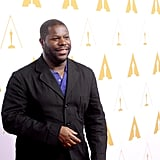 Steve McQueen walked the red carpet.
