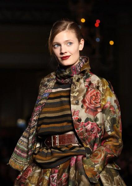 London Fashion Week: Paul Smith Womens Fall 2009