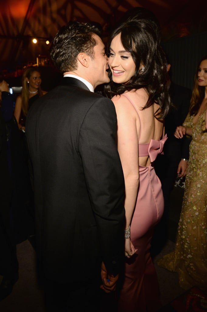 January 2016: Katy and Orlando Get Close at a Golden Globes Afterparty