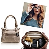 """@brittanyherself Epiphanie Ginger camera bag ($165) """"I travel bimonthly with a camera and laptop in hand — this bag makes things way cuter, especially in business class."""""""