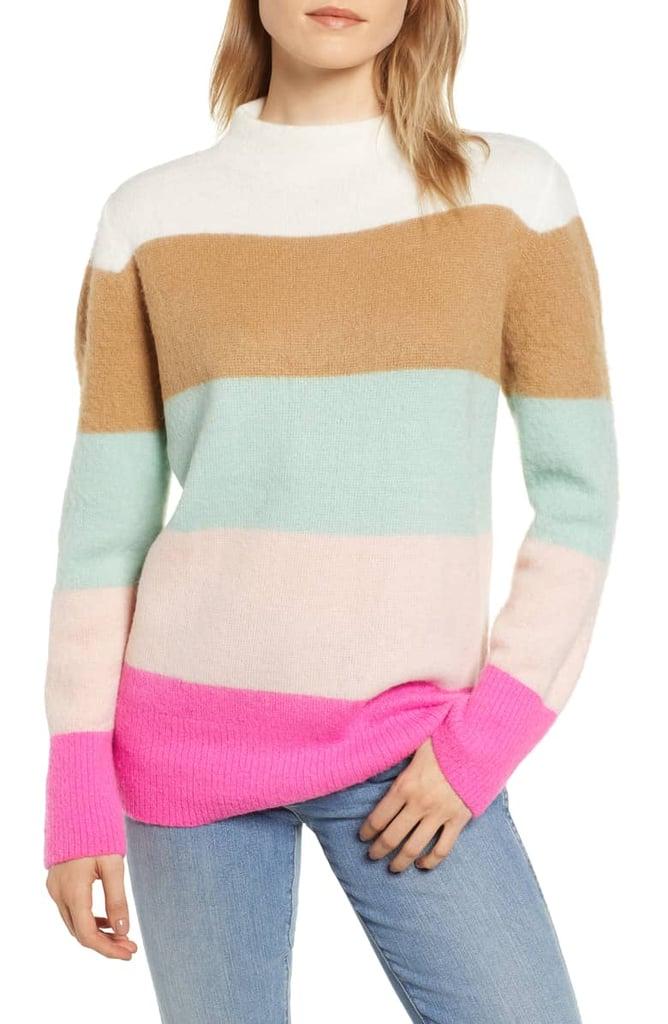 Lou & Grey Grace Air Stripe Sweater