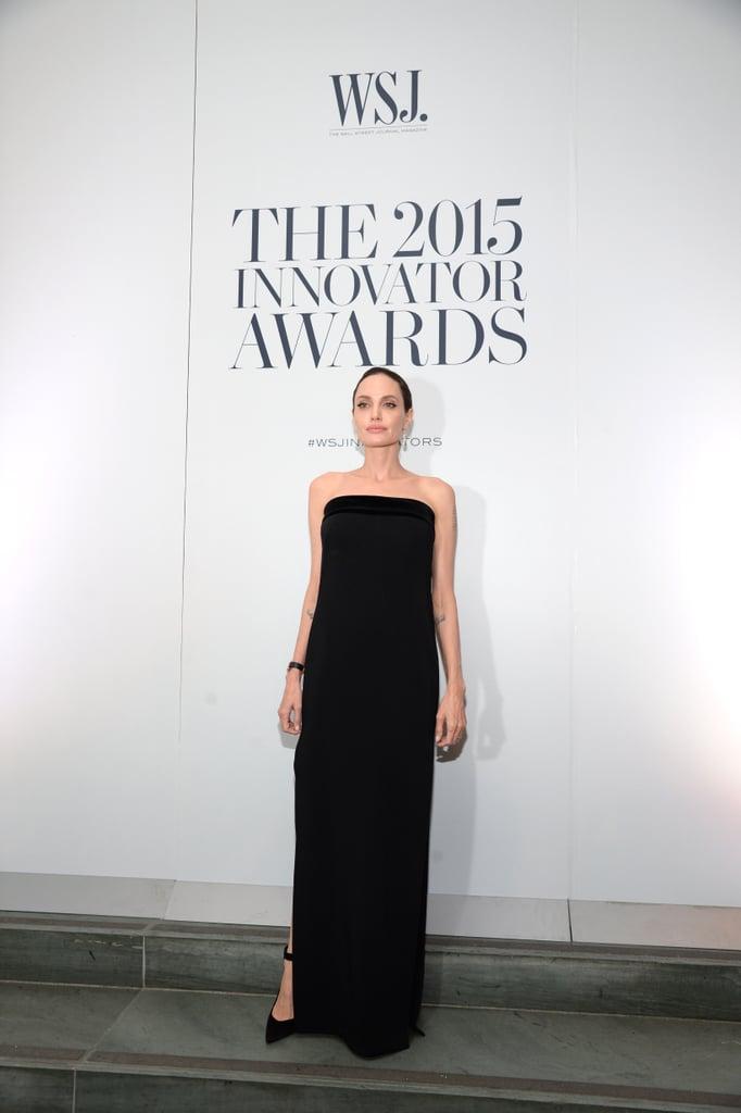 Angelina Jolie's Dress at the WSJ Magazine Innovator Awards