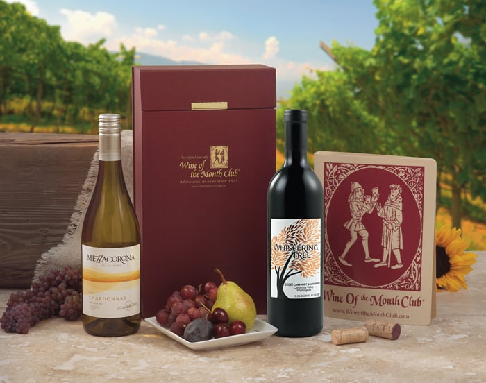 """Wine of the Month Club Subscription ($446 for one year) """"This gift comes in handy after you've given up on New Year's resolutions."""""""