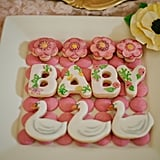 A cute cookie display.