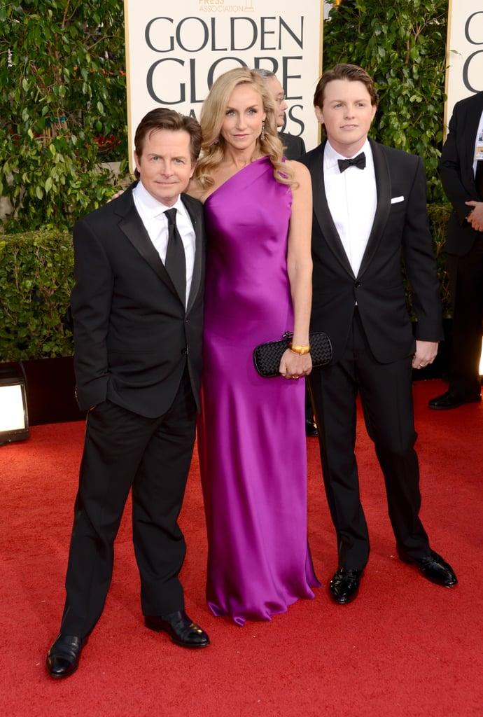 Michael J. Fox, Tracy Pollan and Sam Fox