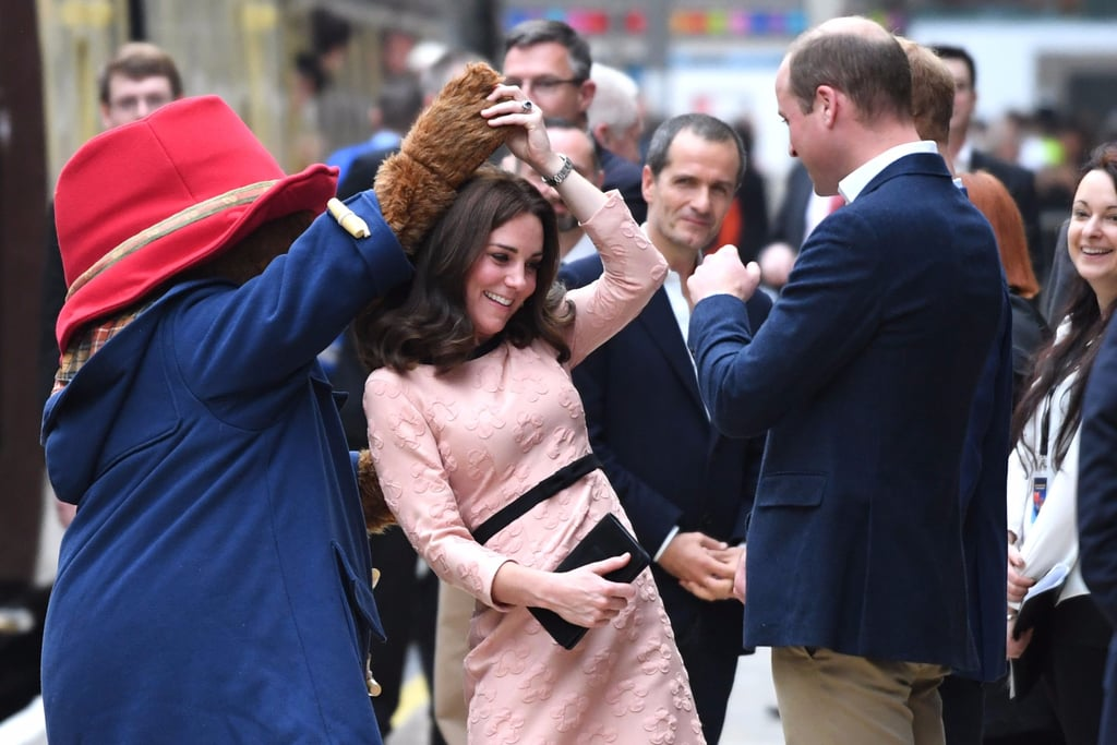 Kate Middleton Dancing With Paddington Bear