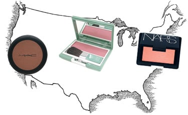 The Most Popular Makeup Colors Throughout America