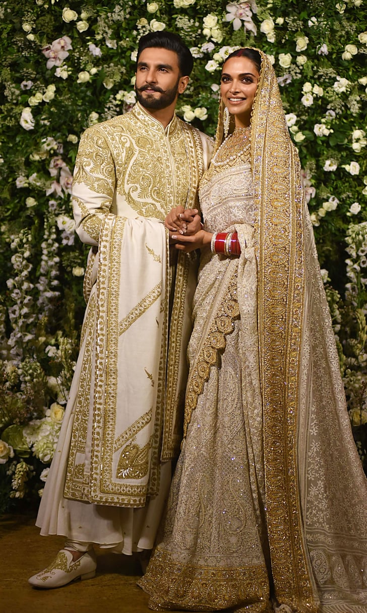 For their reception in Mumbai, Deepika wore a breathtaking ...