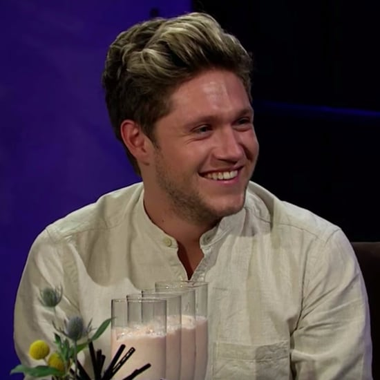 Niall Horan Plays Spill Your Guts on Corden October 2016