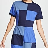 Derek Lam 10 Crosby Patchwork T-Shirt Dress