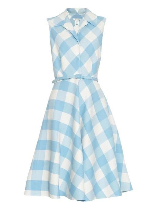 Oscar de la Renta Gingham wool-blend dress ($2,490)