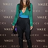 Jessica, Gemma, and Diane Get Glamorous For Gucci Dinner in Paris