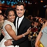 Pictured: Jennifer Aniston, Regina King, and Justin Theroux