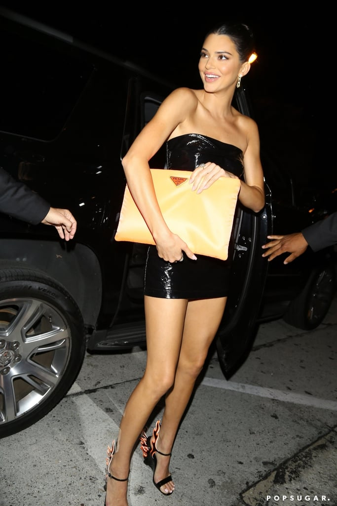 Kendall Wowed in a Sexy Minidress