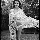 Kim Kardashian showed off her baby body in DuJour magazine's Spring issue.  Source: Bruce Weber for DuJour magazine