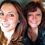 Eva Amurri Martino spent some quality time with her mom, Susan Sarandon. Source: Eva Amurri Martino on WhoSay