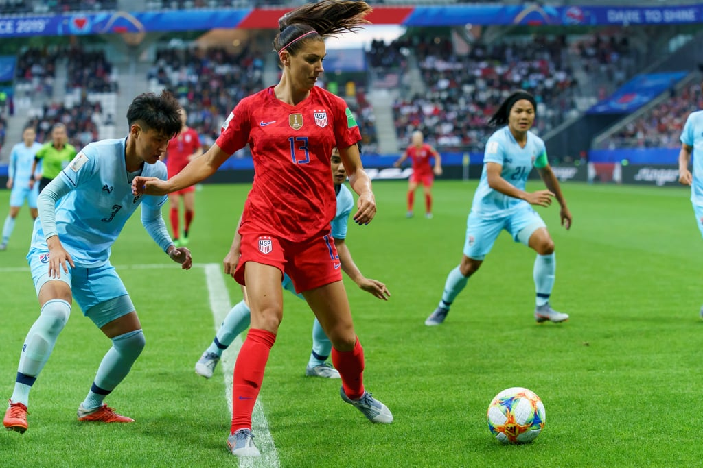 What Position Does Alex Morgan Play?