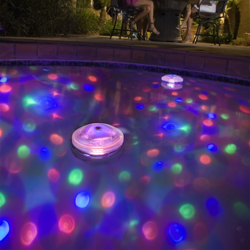 Pool Party Underwater Pool Light Show