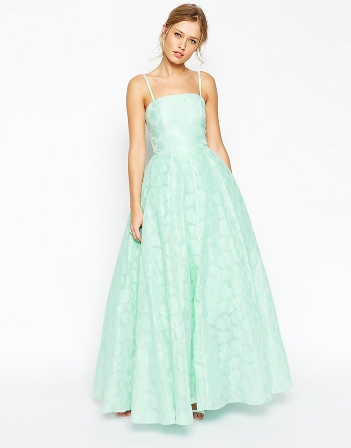 ASOS Bandeau Ball Gown Dress