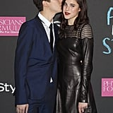 Nat Wolff kissed his Palo Alto costar Margaret Qualley.