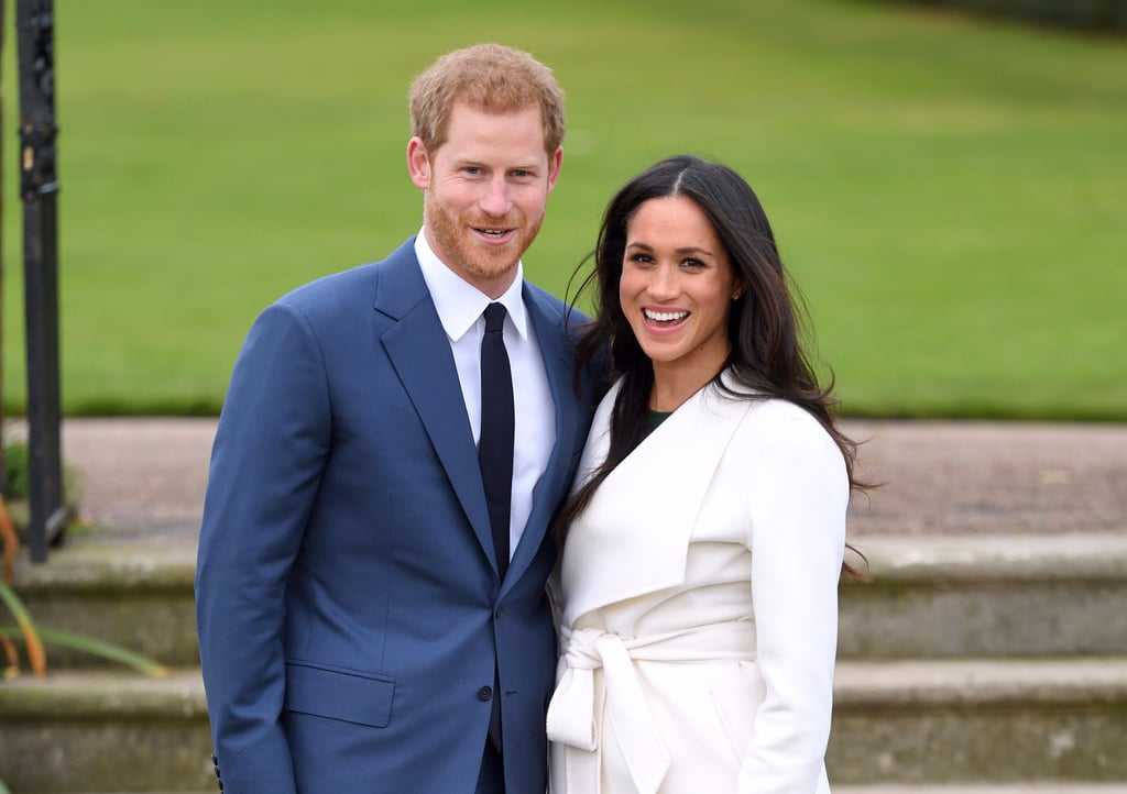 Meghan Markle Tights in Royal Engagement Photo