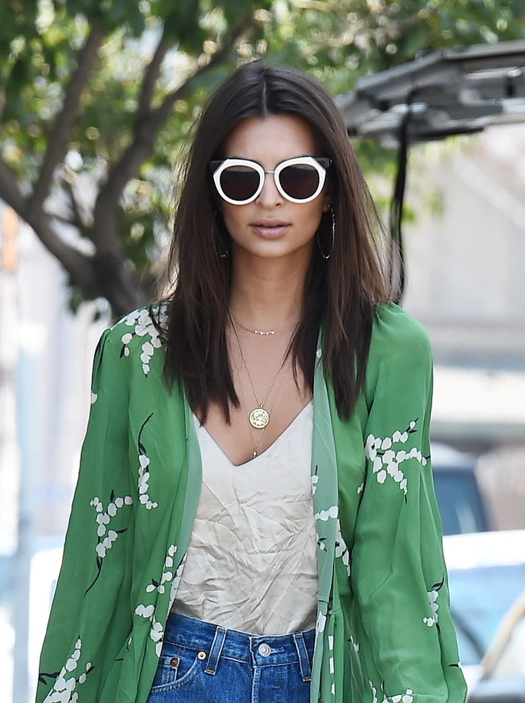Emily Ratajkowski's Latest Style Hack Is a Total Game-Changer