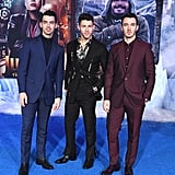 The Jonas Brothers at the Jumanji: The Next Level Premiere