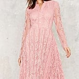 Factory New Lace On Life Midi Dress ($98)