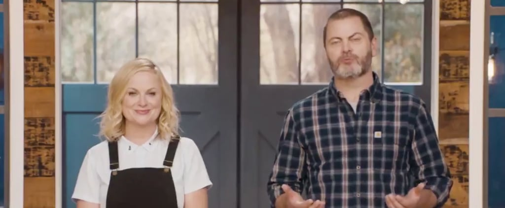 Amy Poehler Nick Offerman Parks and Rec Anniversary Video