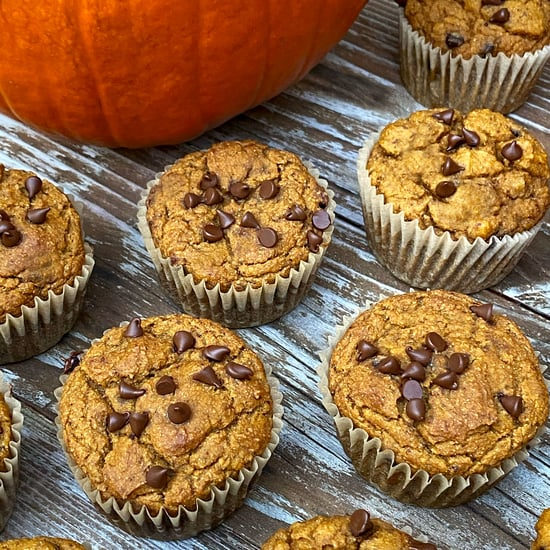 Vegan Pumpkin Chocolate-Chip Protein Muffins