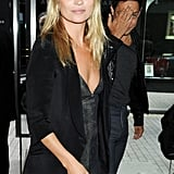 Kate Moss and Jamie Hince partying in London.