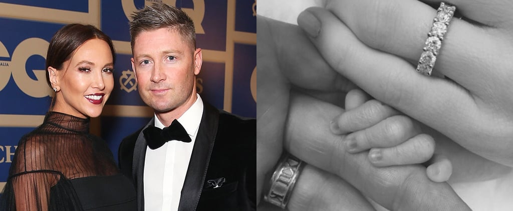 Michael and Kyly Clarke Welcome First Child Baby Girl