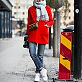 Dress up any outfit with bright colour.  Source: Le 21ème | Adam Katz Sinding