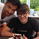 Kelly Ripa and Mark Consuelos celebrated their eldest son Michael's 16th birthday. Source: Twitter user KellyRipa