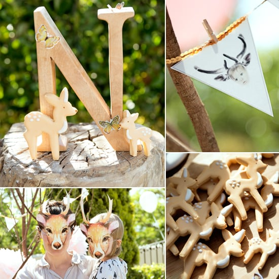 Deer Birthday Party For Kids Inspired by Bambi
