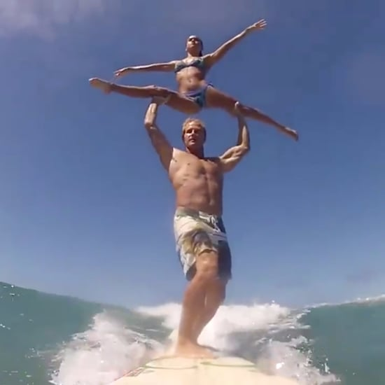 Couple Surfing Acrobatics | Video