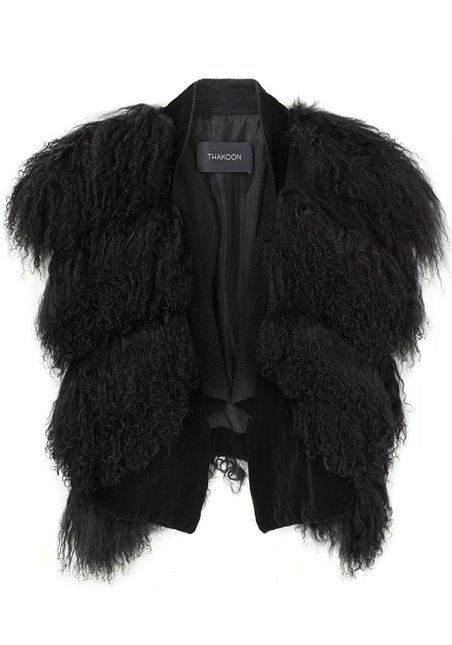 Thakoon Mongolian Fur ($895, originally $1790)