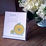 Desk Calendar With Stand — Bristol ($15)
