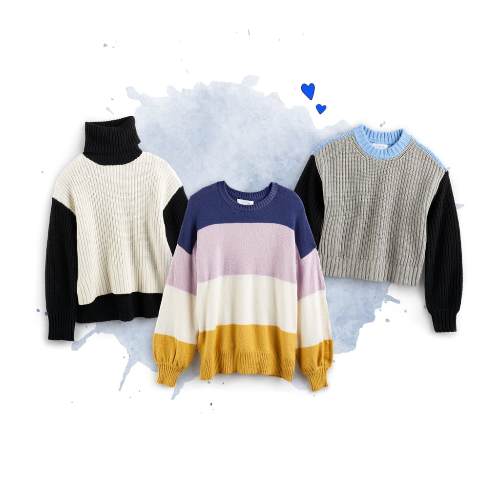 Colorblocked Sweaters