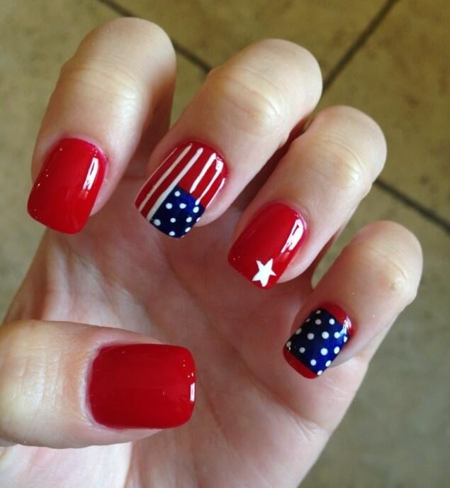 4th of July Nail Designs | POPSUGAR Beauty