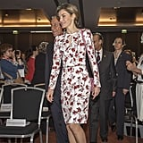 Queen Letizia Is Already Wearing the Dress You'll See Everywhere This Spring