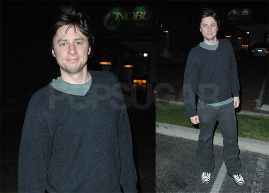 Zach Braff Scrubs in For Another Season
