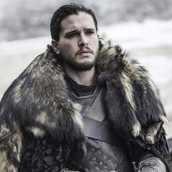 Jon Snow's Man Bun on Game of Thrones