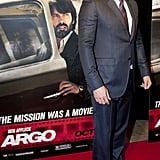 Ben Affleck made his way down the carpet at his Argo premiere in Washington DC.