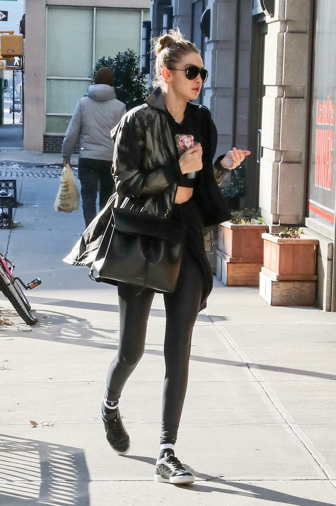 Kendall Jenner And Bella Hadid Puffer Jacket Popsugar