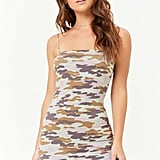 Forever 21 Camo Cami Mini Dress